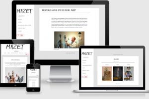 Mazet Scupture - Maintenance Site Internet