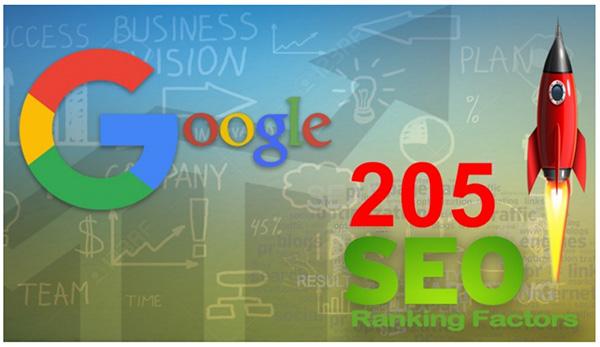 200 critères algorythme Google
