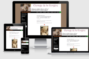 elevage la gorgere - creation et referencement internet