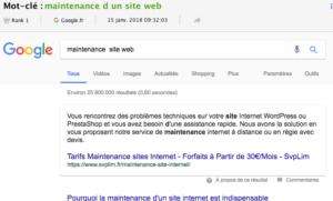 la position zero selon google